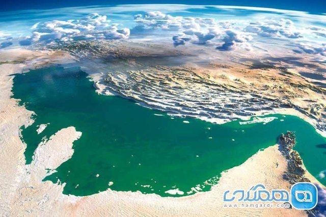 پارکی عجیب در اعماق خلیج فارس