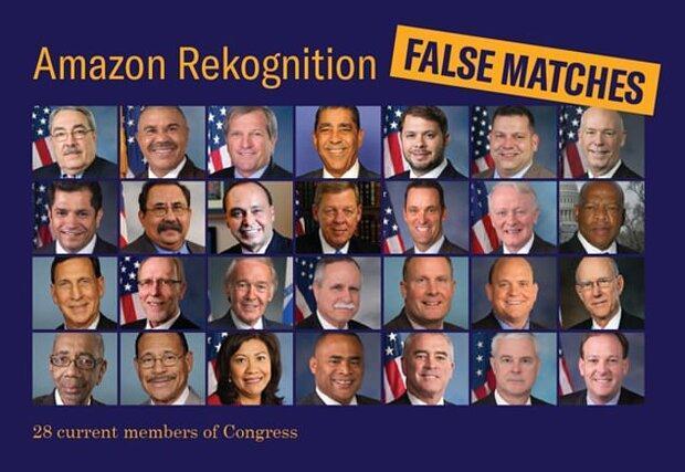 فناوری شناسایی صورت نمایندگان مجلس را اشتباهی شناسایی کرد