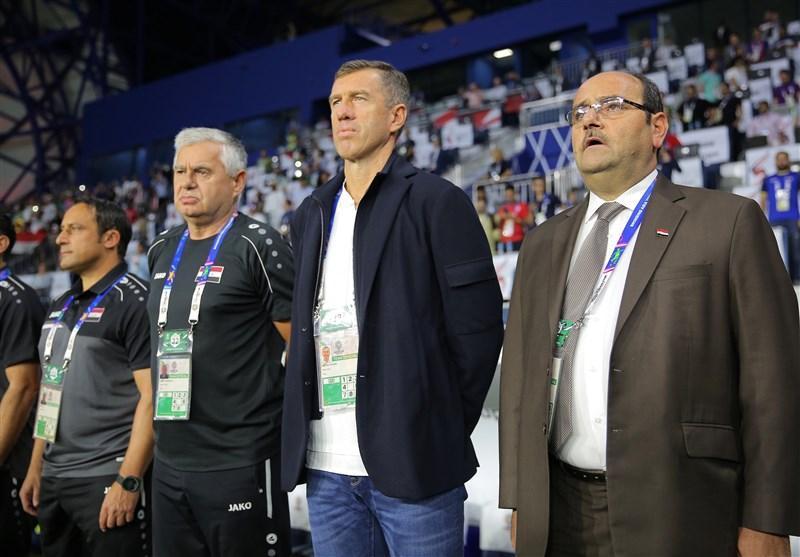 کاتانتس از راهنمایی تیم ملی فوتبال عراق استعفا داد
