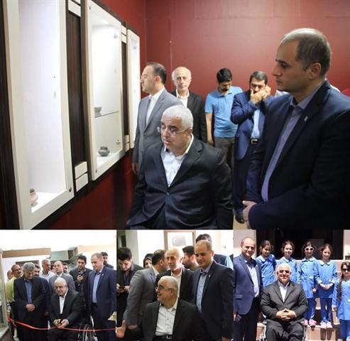 نمایشگاه نویافته های باستان شناسی در موزه رشت برپا شد