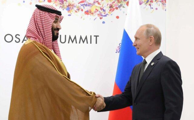 گفت وگوی پوتین و بن سلمان درباره حملات آرامکو