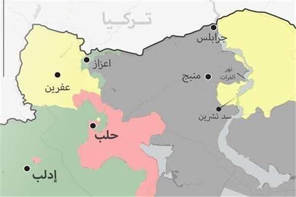 استقرار کامل نیروهای ارتش سوریه در منبج