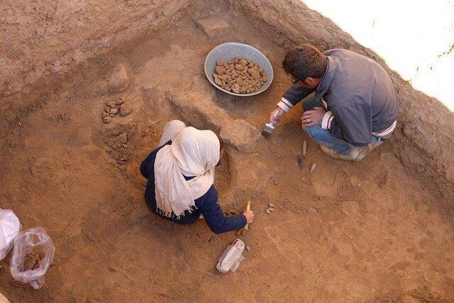 کشف اثر مهرهای گلی از محوطه تاریخی ریوی در خراسان شمالی