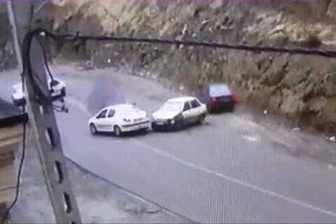 مقصر تصادف های عجیب و غریب جاده چالوس پیدا شد