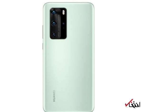 گوشی هواویP40 پرو در رنگ جدید سبز نعنایی به فروش می رسد