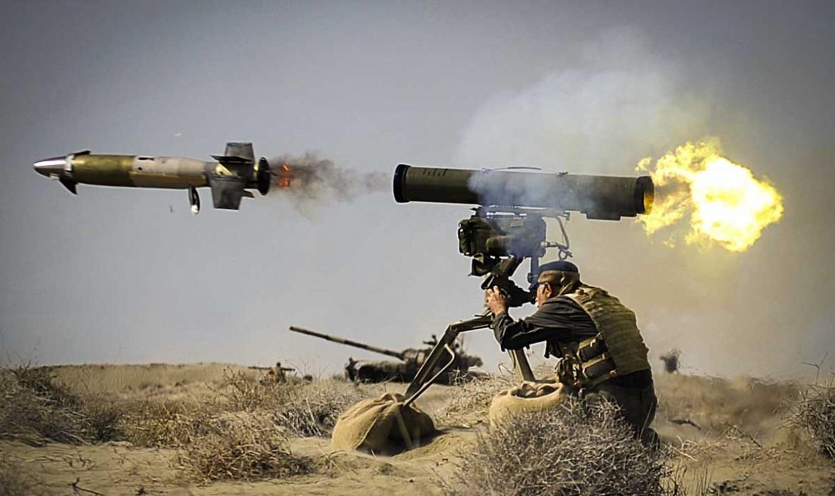 موشک ضد زره دهلاویه؛ نابودگر تانک های مرکاوا و آبرامز