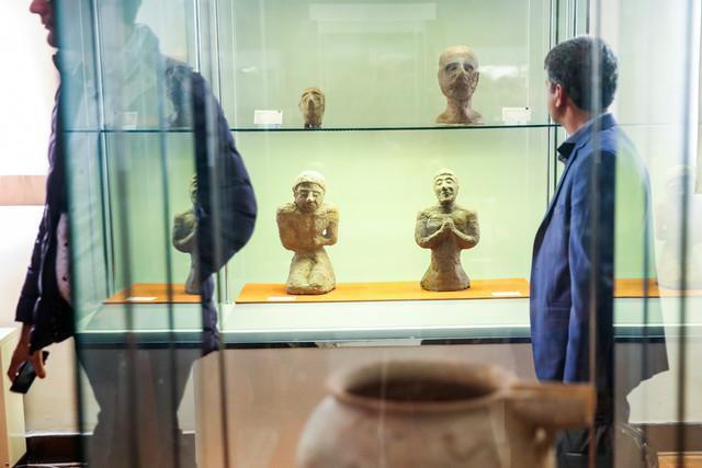 مجموعه های استردادی اشیاء تاریخی در موزه ملی جمع شدند