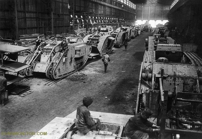 کارخانه های تانک در جنگ جهانی دوم
