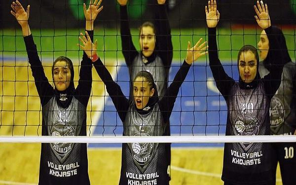 برنامه والیبال بانوان برای عناوین پنجم تا هشتم اعلام شد