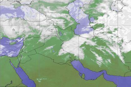 خبرنگاران وزش باد و رگبارهای بهاری پیش بینی هواشناسی برای استان اصفهان