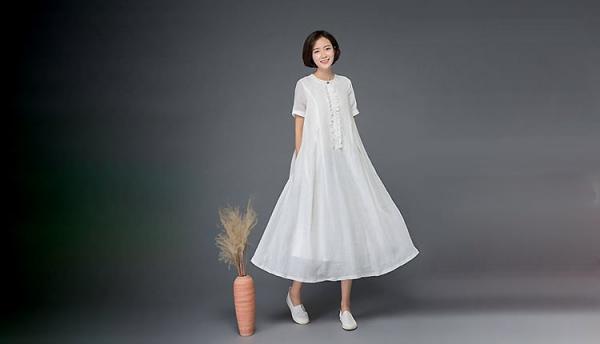 24 مدل لباس نخی بلند تابستانی دخترانه و زنانه جدید