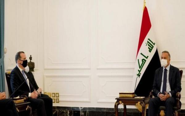 خروج نیروهای جنگی از عراق، از محورهای ملاقات الکاظمی و هیئت آمریکایی